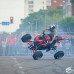 quad on 2 wheels